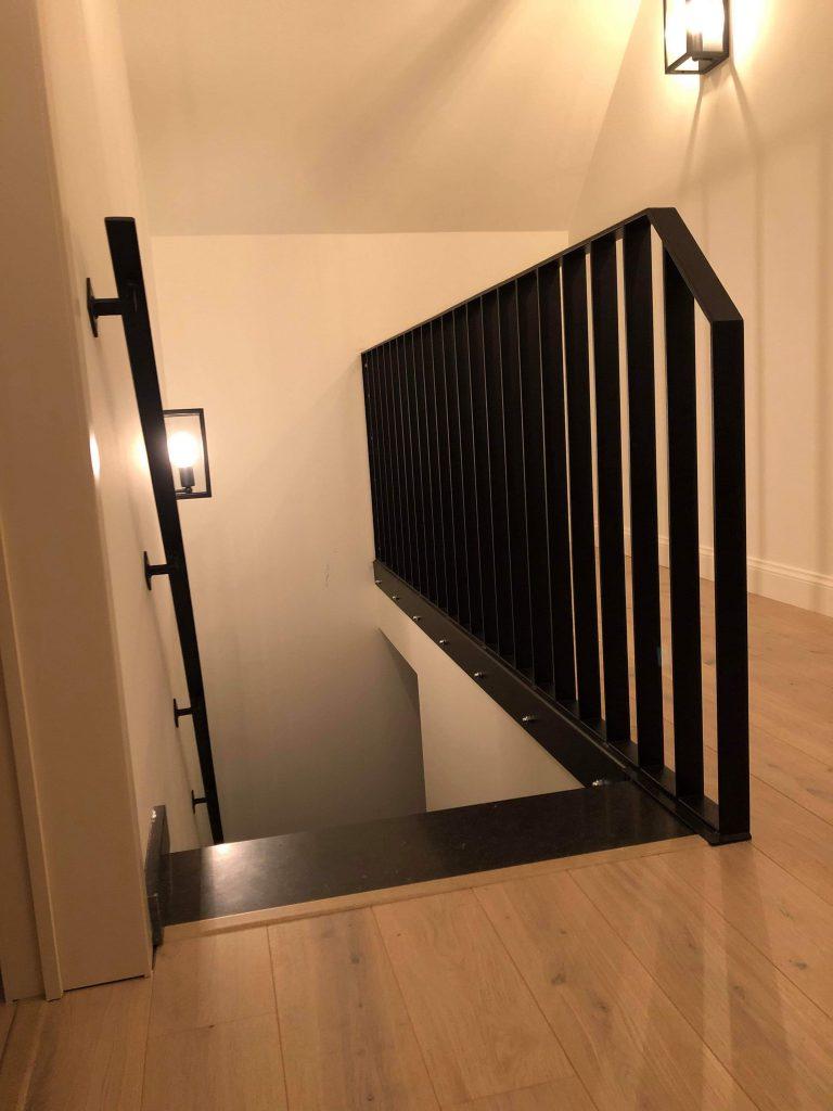 ijzer trapleuning en balustrade