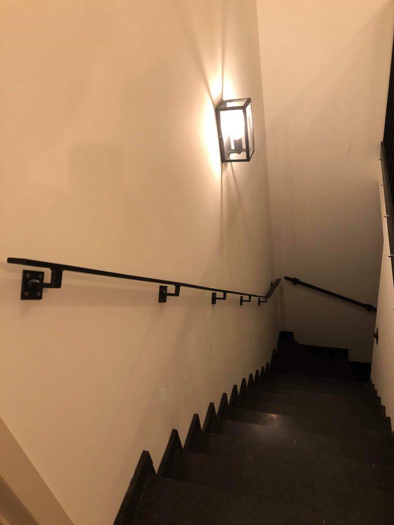 ijzer trapleuning